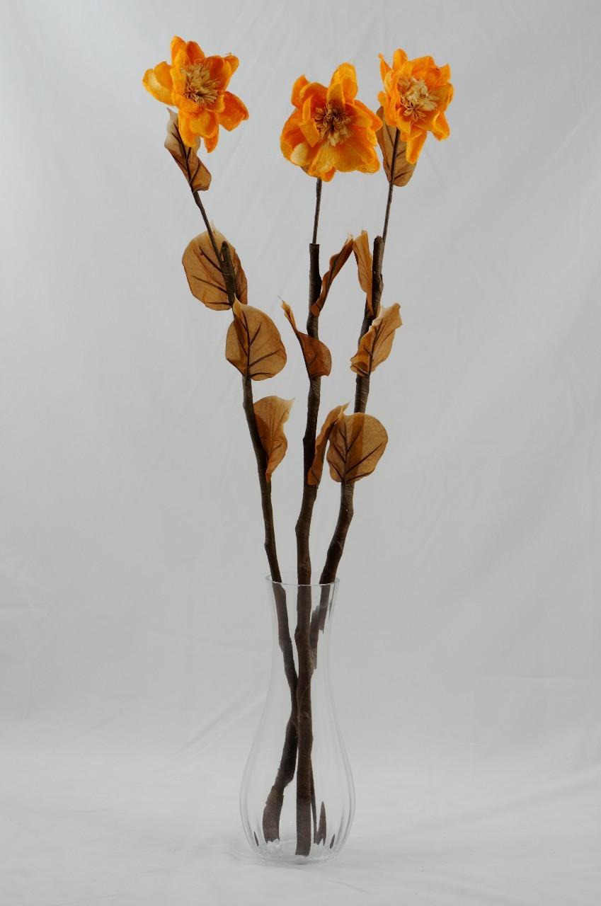 Floara exotica uscata- Culoare portocalie