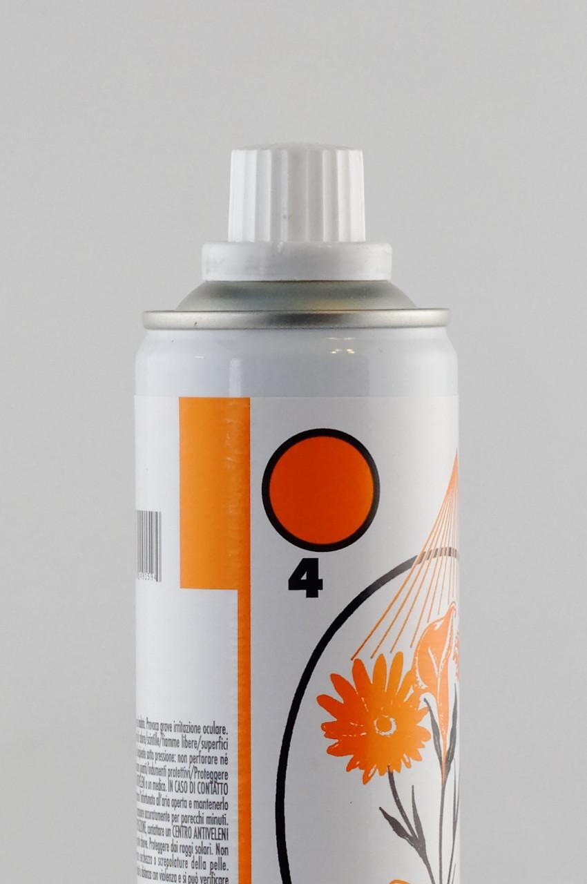 Spray culoare portocalie