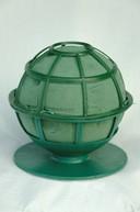 Sfera verde cu suport 12cm diametru