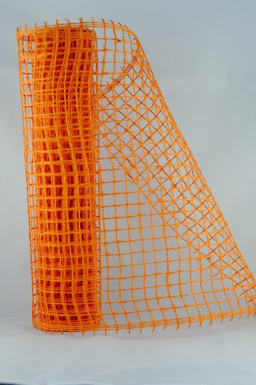 Sul plasa decorativa portocalie 50 de cm
