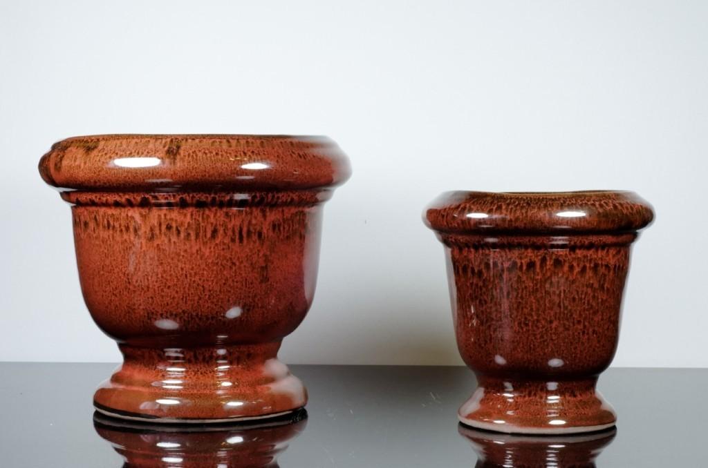 Set 2 vase circulare