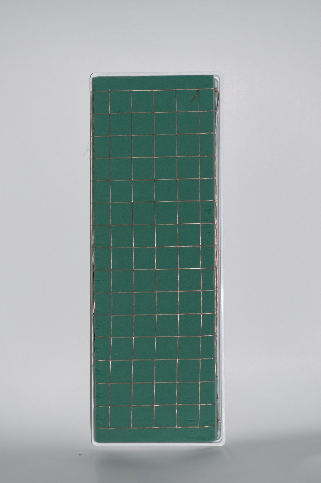 Tavita balcon cu burete floral si sarma 40 cm