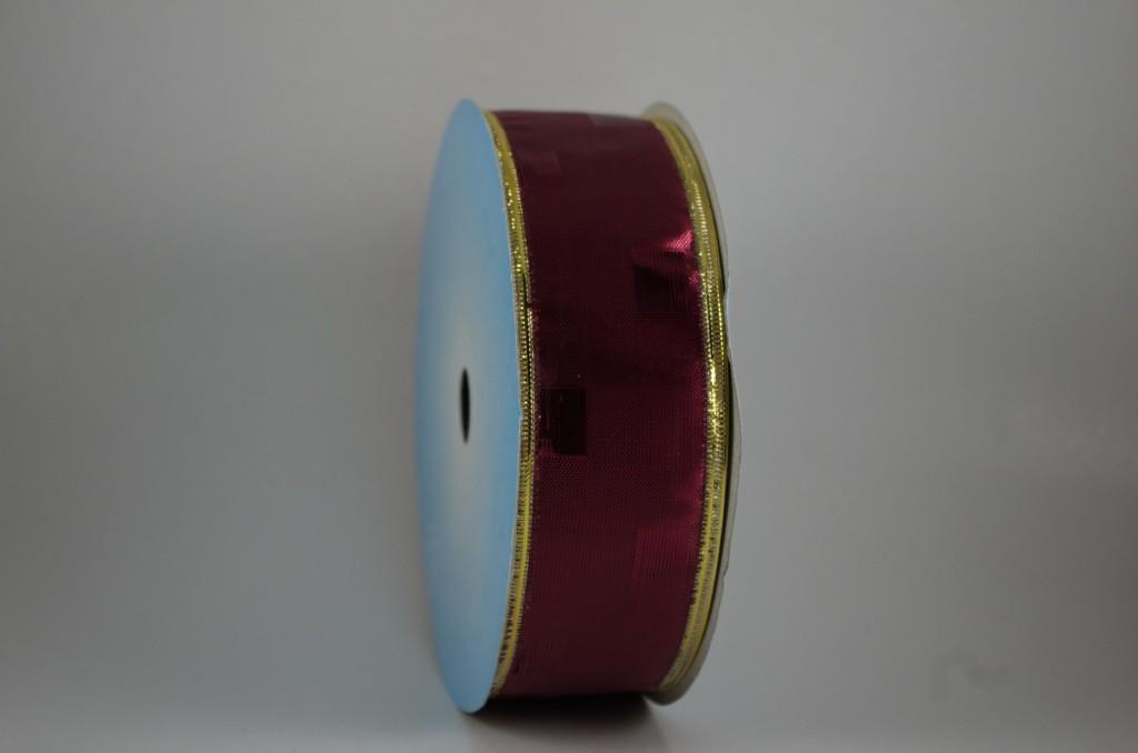 Panglica metalizata, latime 4 cm - P0079