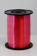 Rola panglica subtire culoare rosie