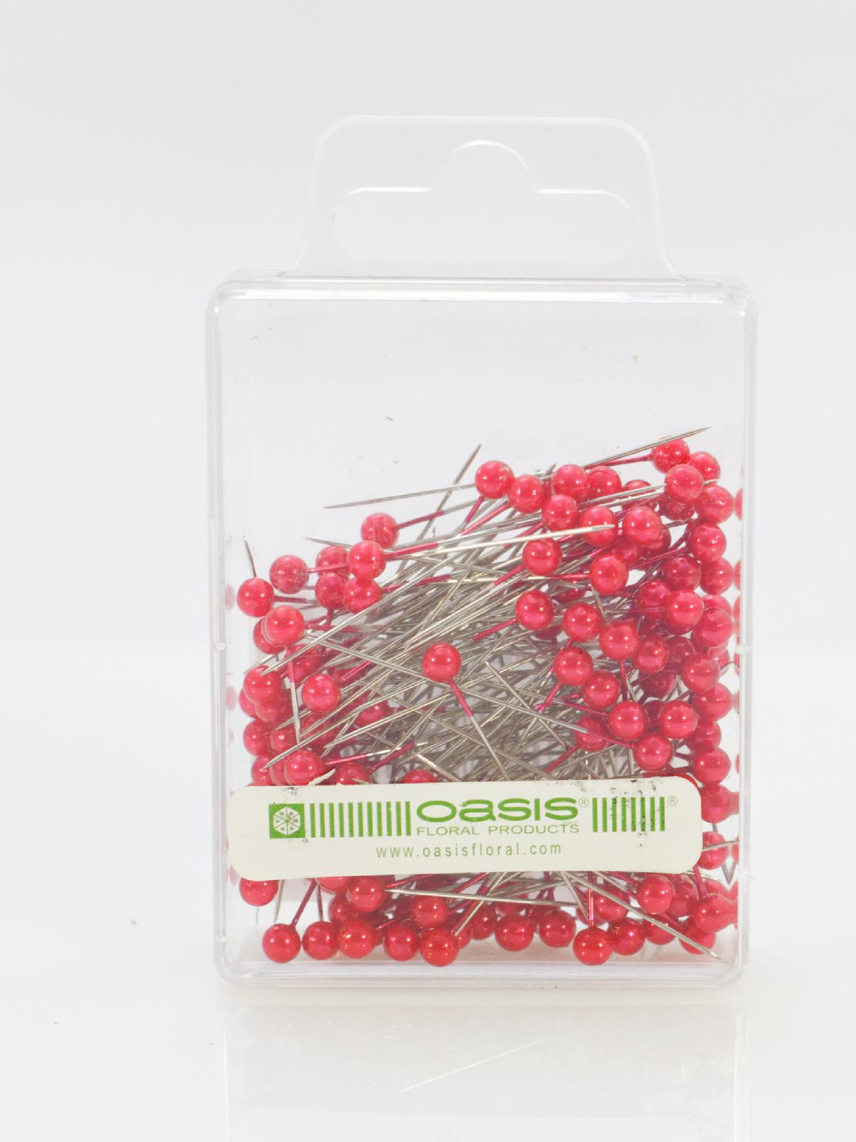 Ace cu perle Oasis culoare roz 144 buc in cutie
