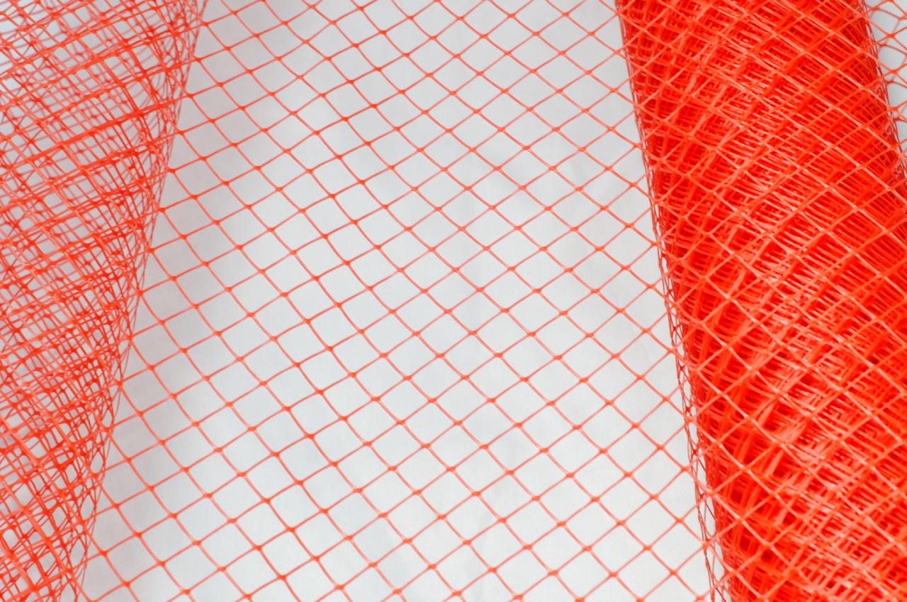 Sul plasa din plastic culoare rosie - 60 de cm