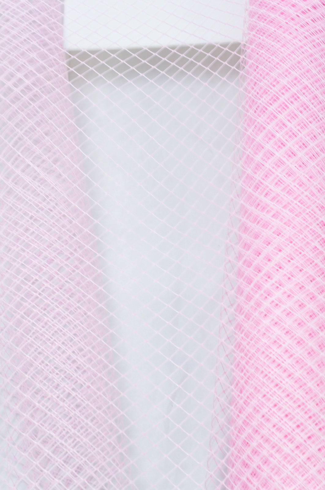 Sul plasa plastic culoare roz - 60 de cm