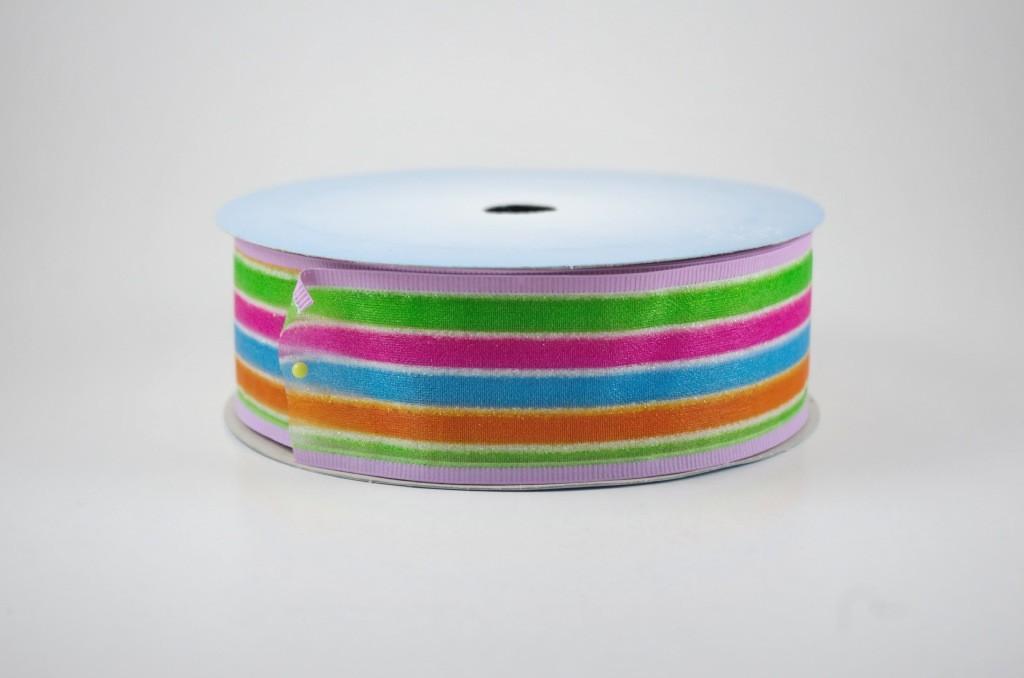 Panglica cu model diverse culori, latime 4 cm - P0049