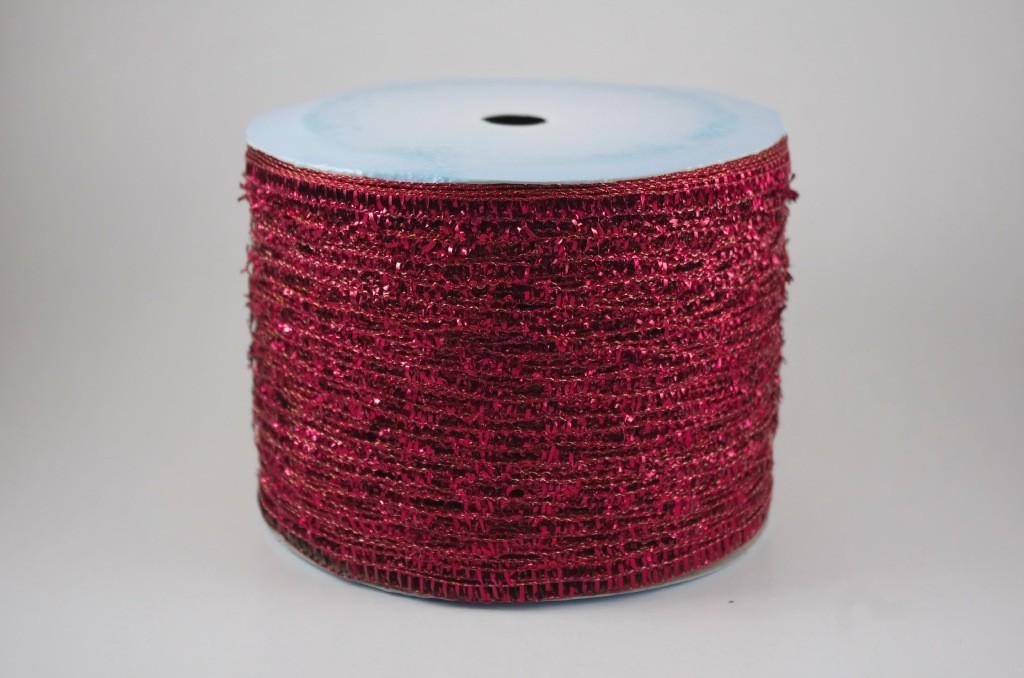 Panglica lucioasa din material sintetic, latime 10 cm - P0063