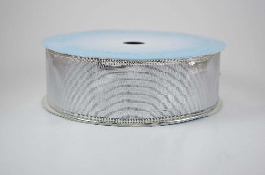 Panglica metalizata, latime 4 cm - P0065