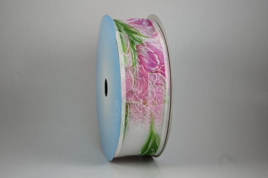 Panglica cu model imprimat, latime 4 cm - P0082
