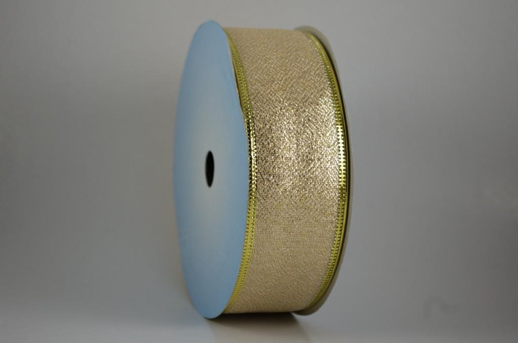 Panglica metalizata, latime 4 cm - P0084