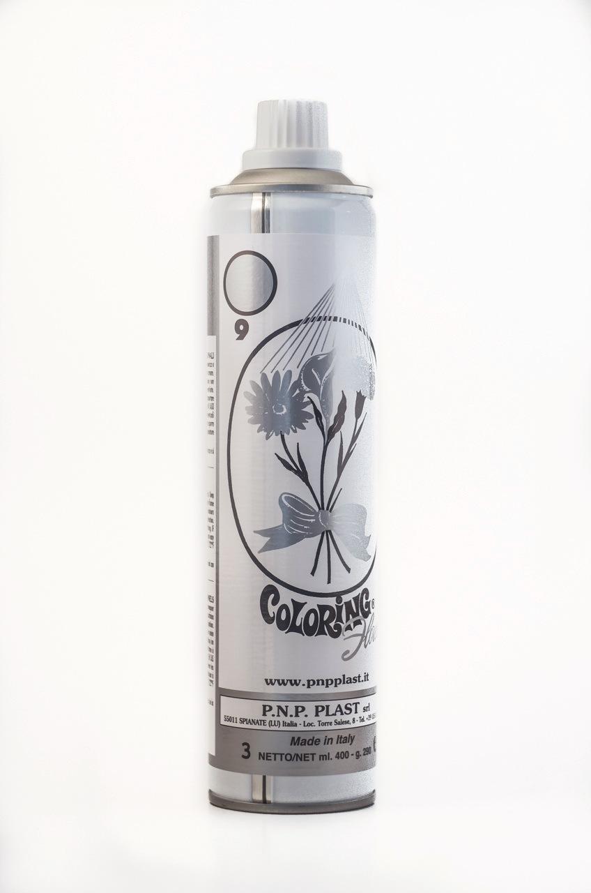 Spray argintiu