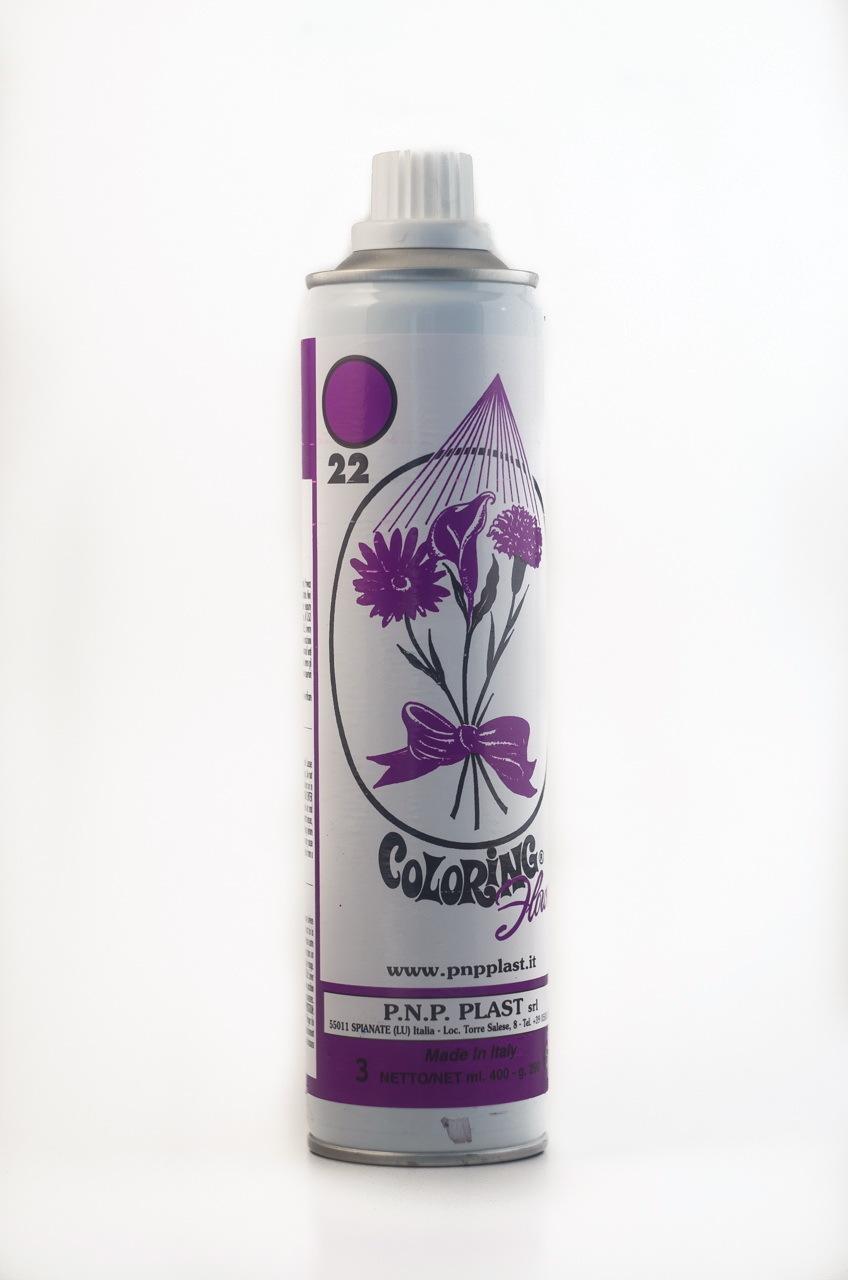 Spray culoare mov