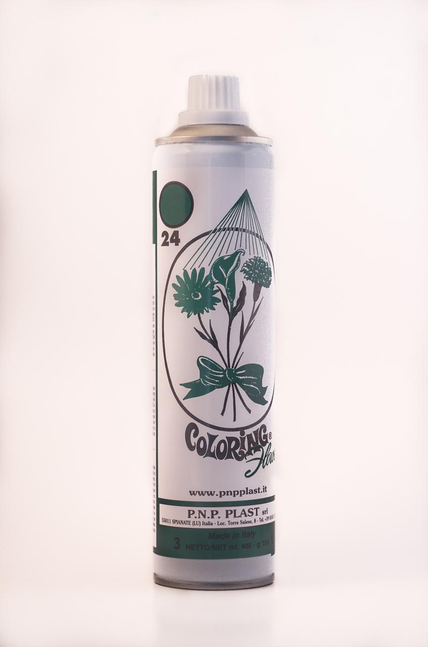 Spray culoare verde