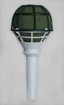 Microfon buchet mireasa - diametru 8 cm